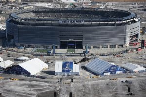 New York Area Prepares For Super Bowl XLVIII